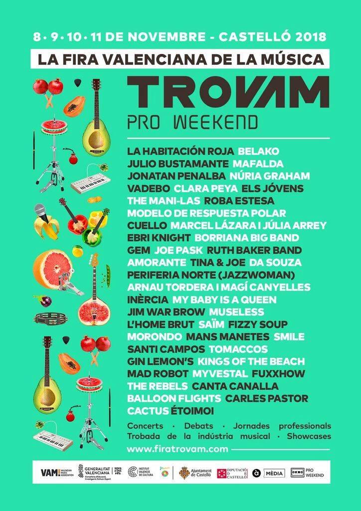 Fira Trovam!-Pro Weekend 2018