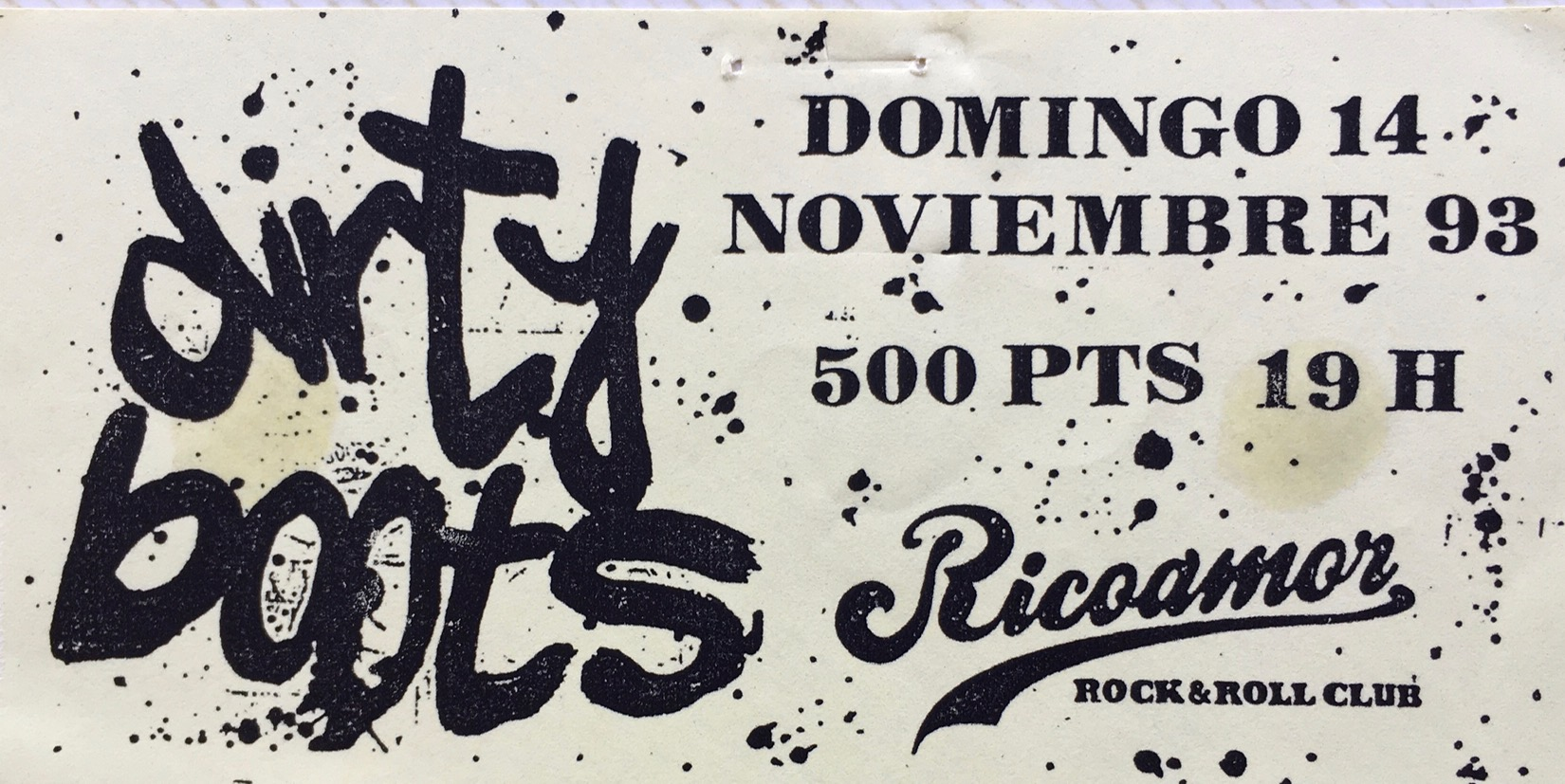 Dirty Boots Ricoamor