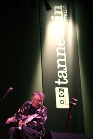 Peter Stampfeld actuó junto a Jeffrey Lewis