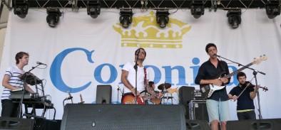 Autumn Comets, el sábado pasado en el Arenal Sound de Burriana.