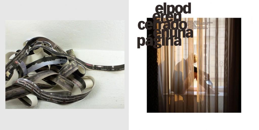 Obras de las series: 'Cercanías' de Pilar Beltrán y 'Cross the line' de Geles Mit