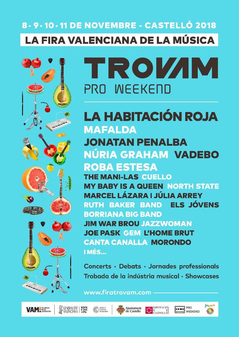 Cartel Fira Trovam-Pro Weekend 2018