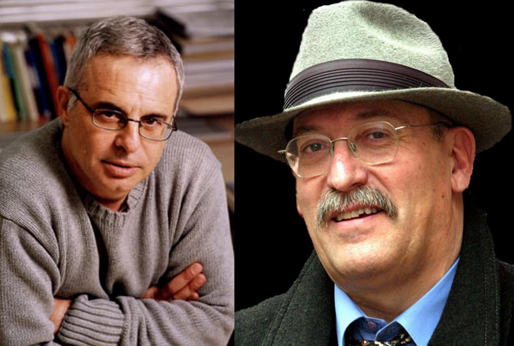 Ferran Torrent y Andreu Martín.