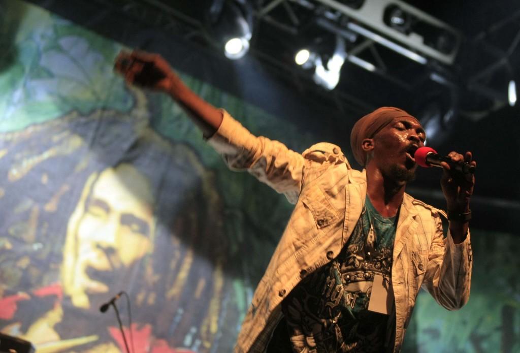 Anthony B en el escenario principal del Rototom. Foto: ACF