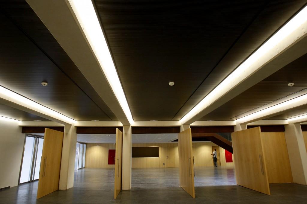Sala de usos múltiples del Paranimf. Foto: Pau Bellido.