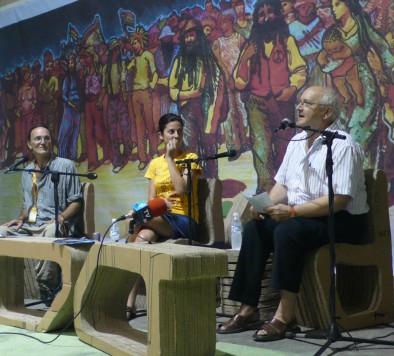 Vicent Martínez Guzmán, el primero por la derecha.