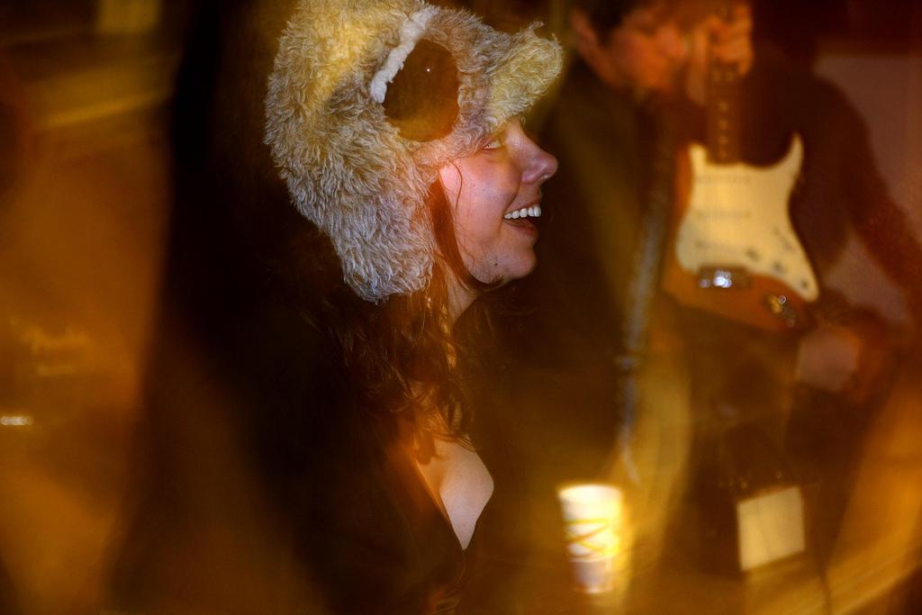 Julie LaMendola, de The Wowz, una de las sensaciones-revelación del Tanned Tin 2010. Kike Galdu/Escuela Blank Paper